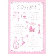 Simon Elvin Baby Girl  Cards (22270)