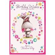 Simon Elvin Cute Female Thank You Cards (22824 TYOU)