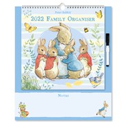 Family Organiser Calendar Peter Rabbit (22FC01)