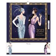 Family Organiser Calendar Claire Coxon Art Deco (22FC02)
