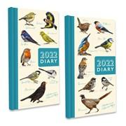 Slim Cased Diary Cdu Pmc Birds (22SD05)