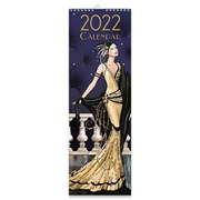 Slim Calendar Claire Coxon Art Deco (22SL02)