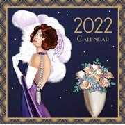 Lge Square Calendar Clire Coxon Art Deco (22SQ02)