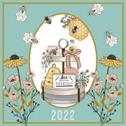 Lge Square Calendar Beekeeper (22SQ04)