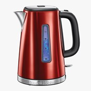 Russell Hobbs Luna Quiet Boil Red 3kw Kettle 1.7l (23210)