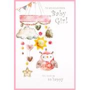 Simon Elvin Baby Girl Cards (24037)