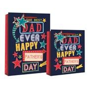 Best Dad Ever Gift Bag Medium (24264-3)