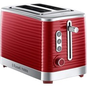 Russell Hobbs Inspire 2 Slice Toaster Red (24372)