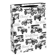 Vintage Car Gift Bag Medium (24558-3)