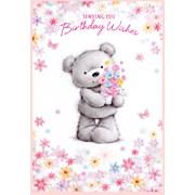 Simon Elvin Cute Female Thank You Cards (24571)