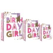 Birthday Girl Gift Bag Medium (24633-3)