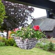 "Smart Garden Faux Rattan Basket - Raffina 14"" (6021010)"