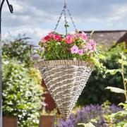 """Smart Garden Faux Rattan Cone - Rafina 14"""" (6021011)"""