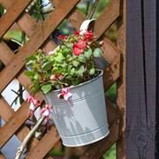 "Smart Garden Fence And Balacony Hanging Pot -ivory 6"" (6030289)"