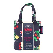 Totes Isotoner Totes Bag In Bag Fruit Ditsy Print Shopper (2517JDS)