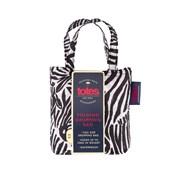 Totes Isotoner Totes Bag In Bag Zebra Print Shopper (2517KDS)