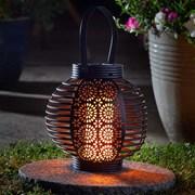 Smart Solar Ferrara Flaming Lantern (1080042)
