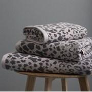 Catherine Lansfield Sengeti Animal Skin Bath Towel Pair Grey (TW/25699/W/BT2/GY)