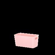 Wham Studio Basket Rectangular Blush Pink 6.01 (25803)