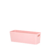 Wham Studio Basket Rectangular Blush Pink 7.01 (25828)