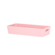 Wham Studio Basket Rectangular Blush Pink 10.01 (25903)