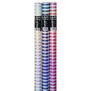 Rainbow Foil Stripe Roll Wrap 3m (26310-GW)