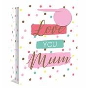 Love You Mum Gift Bag P/fume (26544-9)