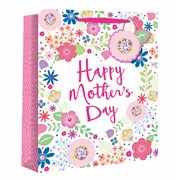 Mothers Day Flowers Gift Bag P/fume (26550-9)