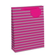 Pink/silver Rainbow Gift Bag P/fume (26652-9)