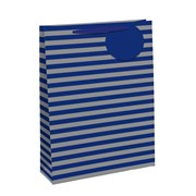 Blue/silver Rainbow Gift Bag Large (26655-2)