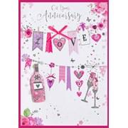 Simon Elvin Isabels Garden Wedding Card (26683)