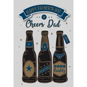 Fd Beer Bottle Poppet Card (26745-C)