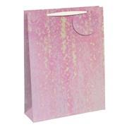 White Iridescent Gift Bag Medium (27078-3)