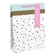 Pastel Spots Gift Bag Large (27186-2)