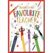 Simon Elvin Thank You Teacher Cards (27904)