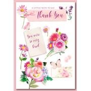 Simon Elvin Trad Female Thank You Cards (28505/THANK YOU)