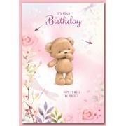 Simon Elvin Cute Female Birthday Cards (28507)