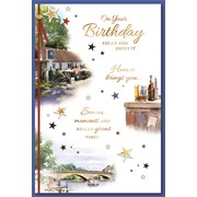 Simon Elvin Trad Male Birthday Cards (28526)