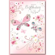 Simon Elvin Trad Female Birthday Cards (28530)