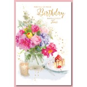 Simon Elvin Trad Female Birthday Cards (28535)