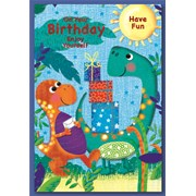 Simon Elvin Male Birthday Cards (28548)