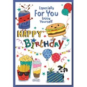 Simon Elvin Male Birthday Cards (28551)