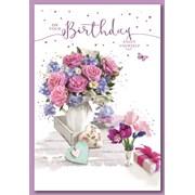 Simon Elvin Trad Female Birthday Cards (28576)