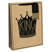 King For A Day Gift Bag Large (28578-2C)