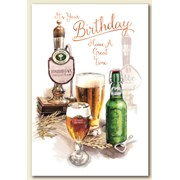 Simon Elvin Trad Male Birthday Cards (28579)