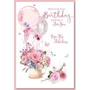 Simon Elvin Trad Female Birthday Cards (28583)