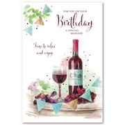 Simon Elvin Trad Male Birthday Cards (28584)