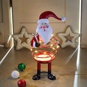 Three Kings Spiralite Santa Light Up (2515004)