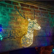 Three Kings Sparkly Stag 80cm (2532005)