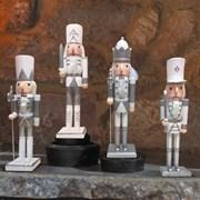 Three Kings Nutcracker Silver/white 20cm (2538011)